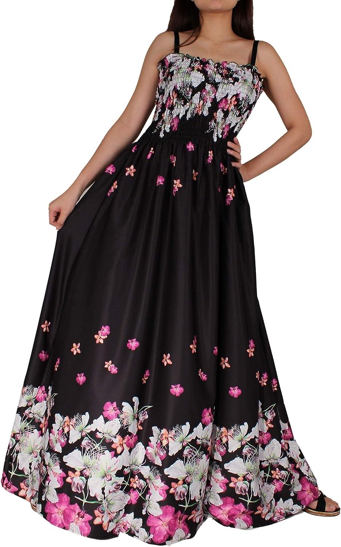 Women Floral Plus Size Maxi Dress Casual Long Sexy Summer Hawaiian Floral Evening Sleeveless Sundress…