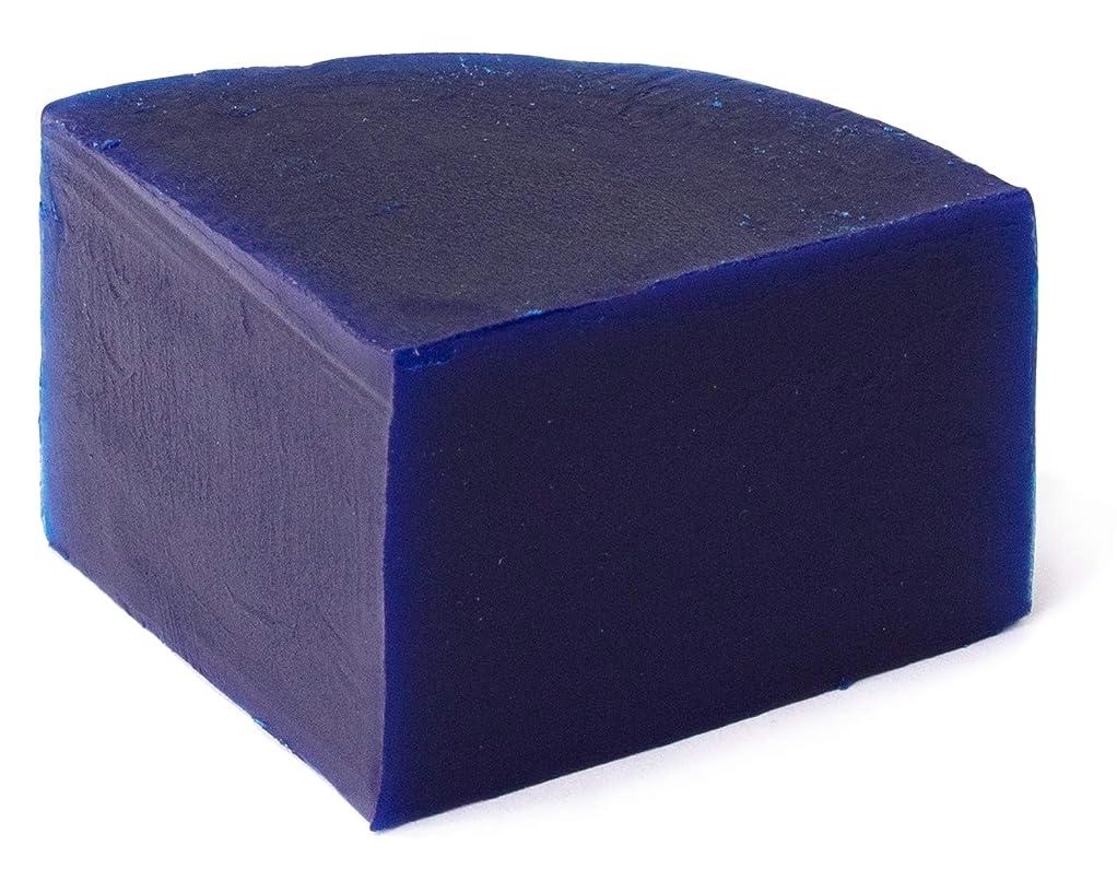 偶然の慈善どうやらグリセリン クリアソープ 色チップ 青 25g (MPソープ)
