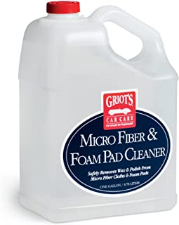 Griot's Garage 11067 Gallon Micro Fiber and Foam Pad Cleaner Gallon