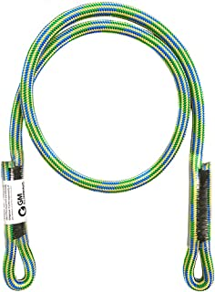 GM CLIMBING 8mm (5/16in) Prusik Cord Pre-Sewn Loop/Eye-to-Eye Heat Resistant Friction Hitch Cord Kevlar & Polyester
