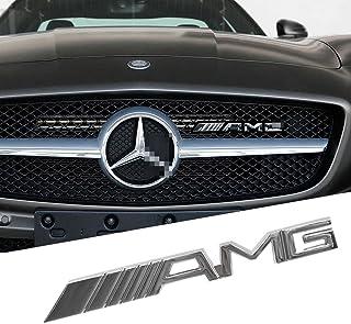 Opayixungs Chrom Metall Element mit AMG Logo für Kühlergrill, vorne