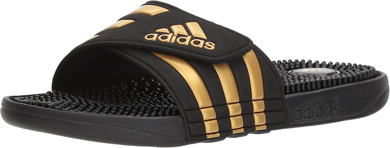 adidas Men's Adissage Sandal Run Graphite Great interest White service