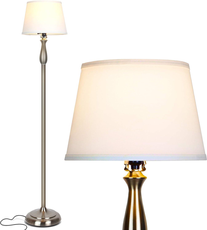 Brightech Gabriella LED Tucson Mall Floor Lamp Free Superior Elegant - Standing Style