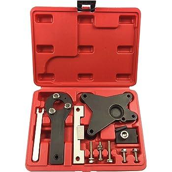 Zerone 4pcs Kit Outils Outils Blocage Arbre /à cames du Moteur Diesel pour Alfa Lancia Astra Corsa