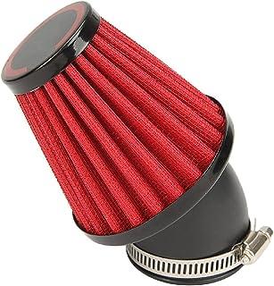 Motorcycle Air Filter, INNOGLOW Universal Air Filters 35mm Red for Honda CB 250 N R S CB400 N Kawasaki KZ250 A A1 A2 A3 B B1 B2 GPZ 305 Suzuki GS250 T E GS450 GSX 250 Yamaha DT250 MX XS250 SE XS400