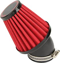 Motorcycle Air Filter, INNOGLOW Universal Air Filters 42mm Red for Honda CB 250 N R S CB400 N Kawasaki KZ250 A A1 A2 A3 B B1 B2 GPZ 305 Suzuki GS250 T E GS450 GSX 250 Yamaha DT250 MX XS250 SE XS400
