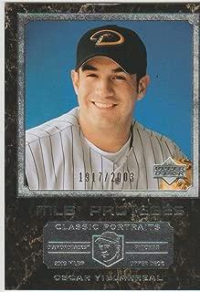 2003 Upper Deck Oscar Villarreal Diamondbacks 1917/2003 Rookie Baseball Card #153