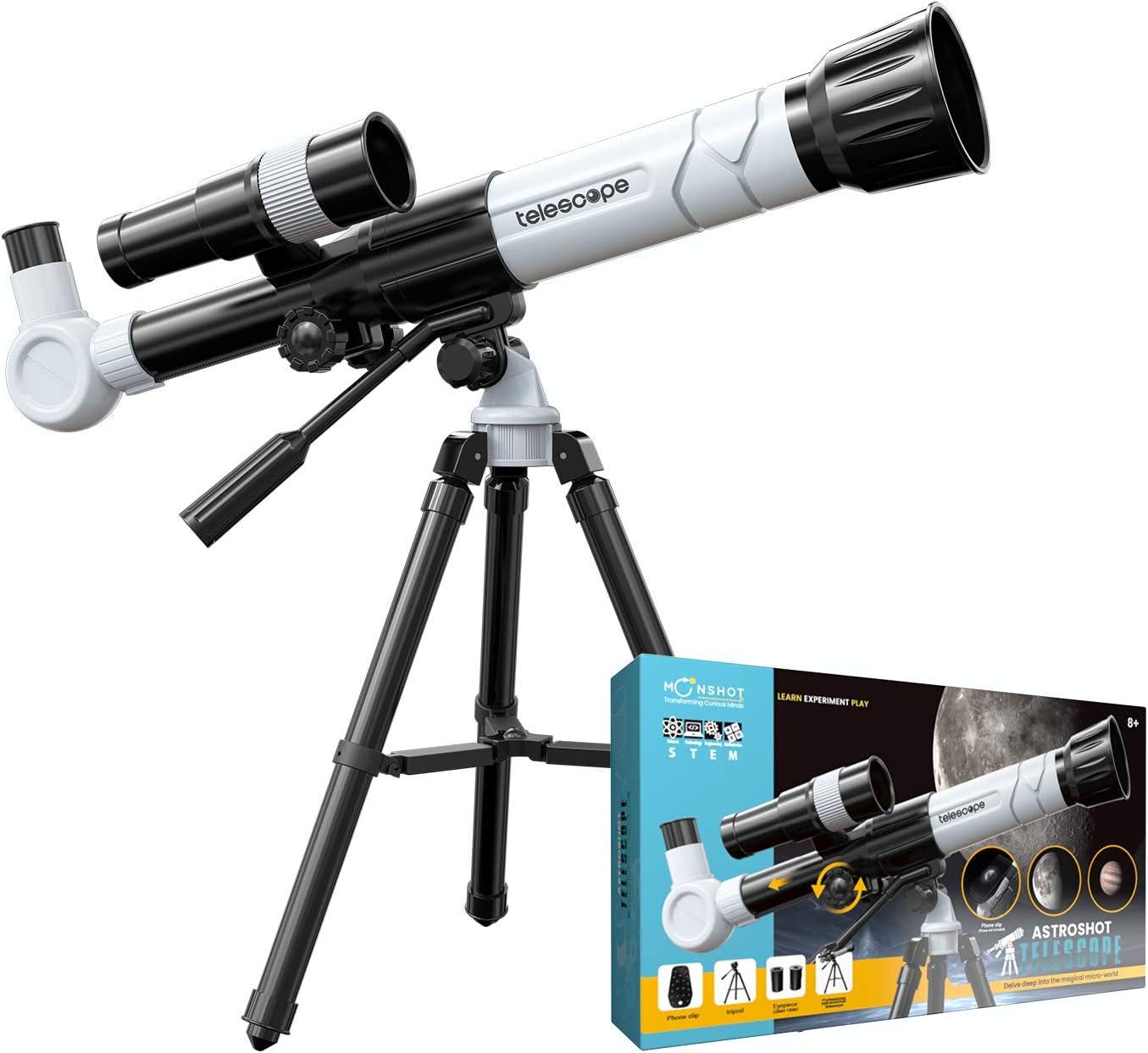 Moonshotjr San Antonio Mall Astroshot Kids Telescope - Limited price sale Toy Astronomy Educational