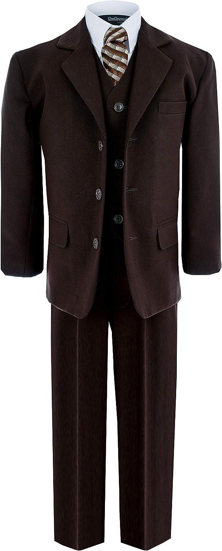 Gino Giovanni Formal Boy Brown Ranking TOP4 Suit Teen to Boys Atlanta Mall