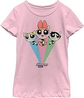 The Powerpuff Girls Girls' Rainbow Flight T-Shirt
