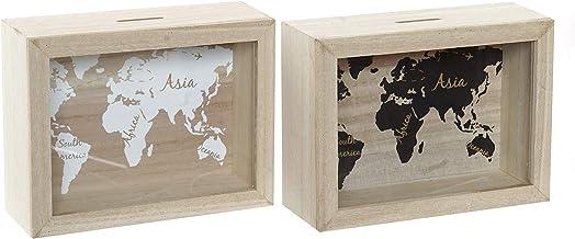 Dream Hogar Caja Colgador de Llaves cuelgallaves mediterraneo 6 Ganchos 21x25,5x6,7 cm