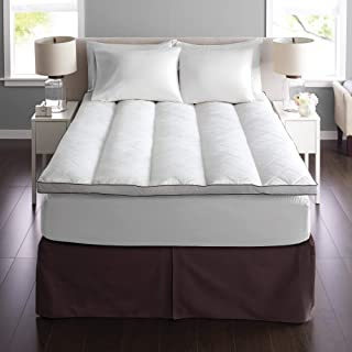 Pacific Coast Euro Rest Quilt Top Feather Bed - Queen