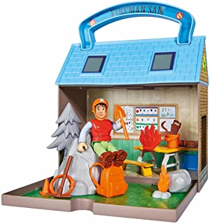 Simba 109251032 Fireman Sam Mountain Rescue Centre with 2 Figures