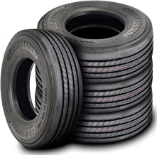 Set of 4 (FOUR) Transeagle ST Radial All Steel Heavy Duty Premium Trailer Tires - ST225/75R15 124/121L G (14 Ply)