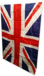 Union Jack Flag - 3 by 5 Feet (91 by 152 Centimetres) / Indoor or Outdoor Use / British Souvenir for Sports Football Rugby Formula 1 / UK Party Decoration for Home Office or Garden