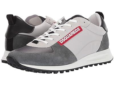 DSQUARED2 New Runner Hiking Sneaker (Grey/Anthracite) Men