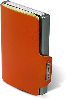 Mondraghi The Original - Monedero con marco de aluminio y protección RFID integrada