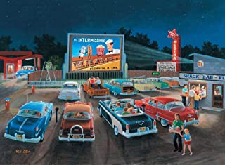 Wooden Jigsaw Puzzles - at The Movies - 318 Pieces by Nautilus Wooden Puzzles
