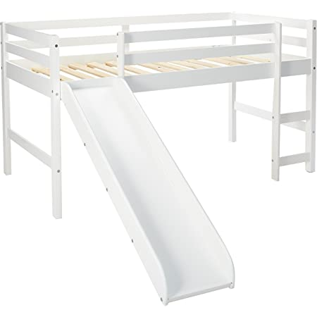 DONCO Kids Series Bed, Twin, White