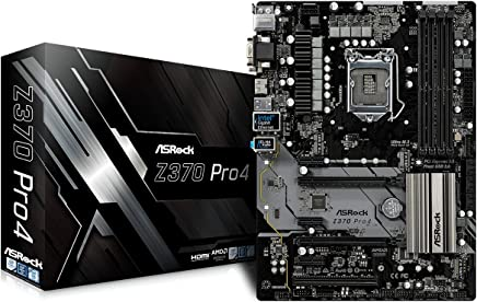 ASRock Intel Z370 チップセット搭載 ATX マザーボード Z370 Pro4