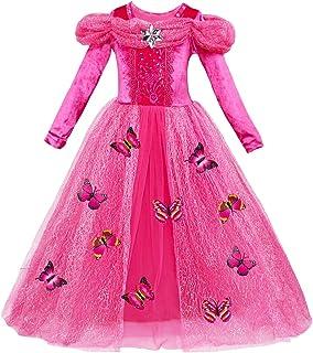 Le SSara Vestito Fantasia della Principessa Cosplay della Ragazza Lunga del Manicotto