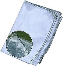 JIANFEI Transparant dekzeil afdekzeil, winddichte afdekkingen voor planten in de open lucht, scheurvast broeikasgassen dek...