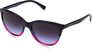 EA4110 56334Q Violet/Blue/Strawberry EA4110 Cats Eyes Sunglasses