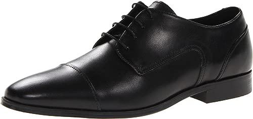 Herren Jet, Schuhkappe, Ox, schwarz, 39 EU