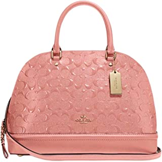 3e2192b1b971 Coach Signature Sierra Dome Satchel Bag Handbag Purse - Melon