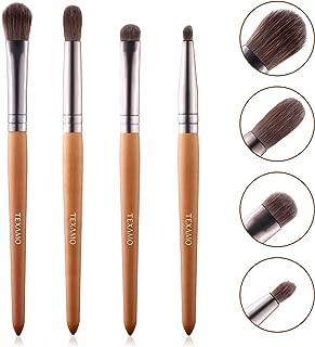 Eyeshadow Brush Set Eye Shadow Blending Brush Shader Crease Pencil Brush Kit 4 Pc Professional Eye Makeup Brushes