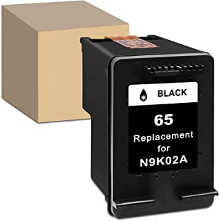 HibiTon Remanufactured Ink Cartridge Replacement for HP 65XL 65 XL Work with Envy 5052 5055 5012 5010 5020 5030 DeskJet 26...