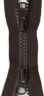 YKK Vislon 2-Way Separating Zipper, 28