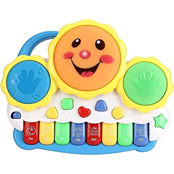 ARHA IINTERNATIONAL Musical Piano Keyboard Toys for Kids with Light and Sound