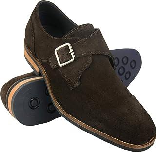 Zapatos de Piel para Hombre |Zapatos de Vestir Hombre | Zapatos Hombre Vestir Piel | Zapatos Hombres Traje| Monk Hombre | ...