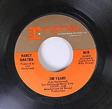 Nancy Sinatra 45 RPM 100 Years / See The Little Children