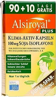 Alsiroyal PLUS Klima-Aktiv Kapseln, 90+10 Stück – Wechseljahre / Menopause   Mit..
