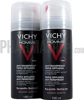 Vichy Homme 72H Triple Diffusion Desodorante Antitranspirante - 300 ml