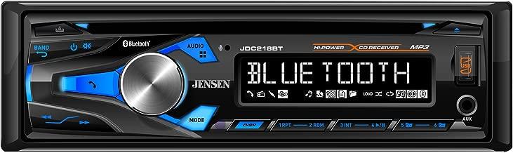 Jensen JDC218BT AM/FM CD Receiver with Built-in Bluetooth