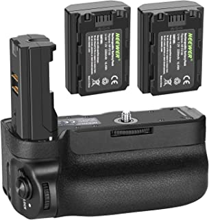 Neewer Vertical Battery Grip for Sony A9 A7III A7RIII Cameras, Replacement for Sony VG-C3EM with 2 Packs 7.2v 2280mAh 16.4...