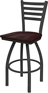 Holland Bar Stool Co. 41036PWDCMpl 410 Jackie Swivel Bar Stool, 36