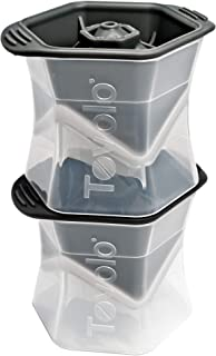 Tovolo Colossal Leak-Free, Anti-Tip, Silicone Cap Ice N/A Black 81-2586