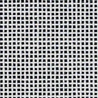"Zweigart Orange Line Blank MonoDeluxe 10-Mesh White Needlepoint Canvas 20"" X 18"""