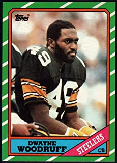 Football NFL 1986 Topps #290 Dwayne Woodruff NM-MT Steelers