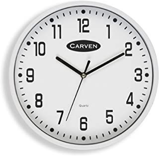 CARVEN CL225WH Clock 225MM, White