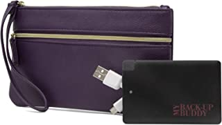 wristlet wallet with phone charger