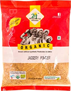24 Mantara Organic Powder, Jaggery, 2 Pound