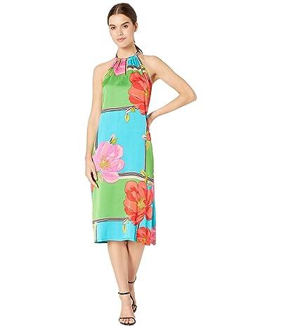 Trina Turk Midi Roe Dress (Multi) Women