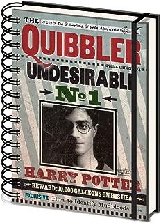 HARRY POTTER Cuaderno de Tapa Dura (A5) SR72236 Quibbler Undesirable No 1