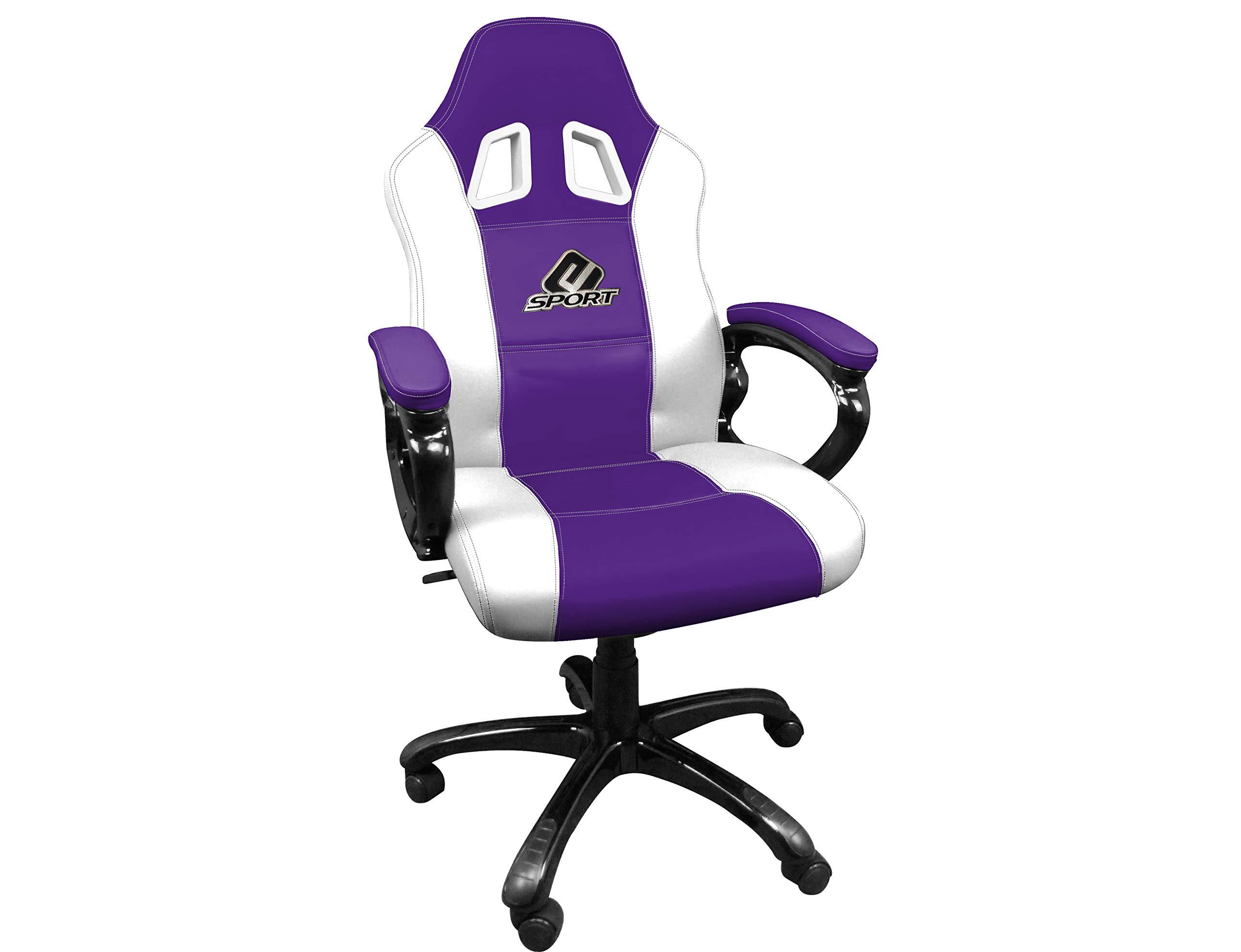 ゲーム用バケットシート - プレイヤー用シート、エルゴノミックレーシングシート - オフィスおよび回転椅子 - 電子スポーツ用アクセサリーE-スポーツパープル