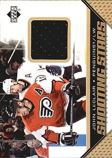 2005-06 Upper Deck Shooting Stars Jersey Card s #SJL John LeClair Jersey Card - Penguins